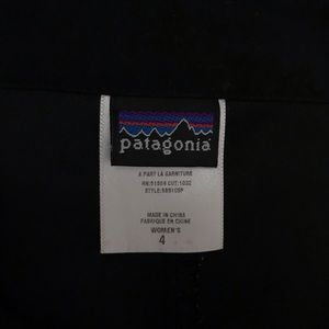 Patagonia Shorts - Patagonia Duway Skirt Black Athletic Hiking Skort